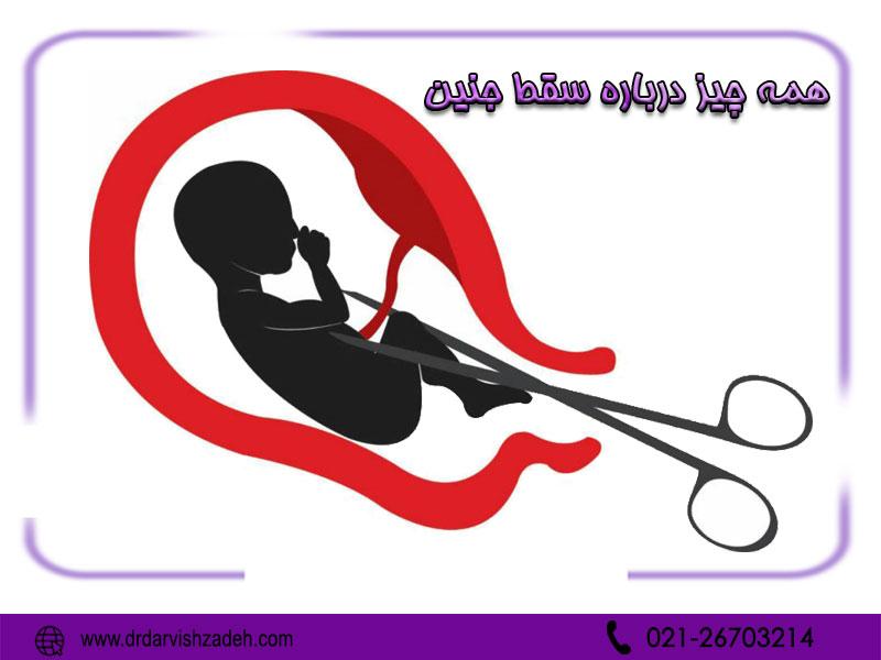همه چیز درباره سقط جنین